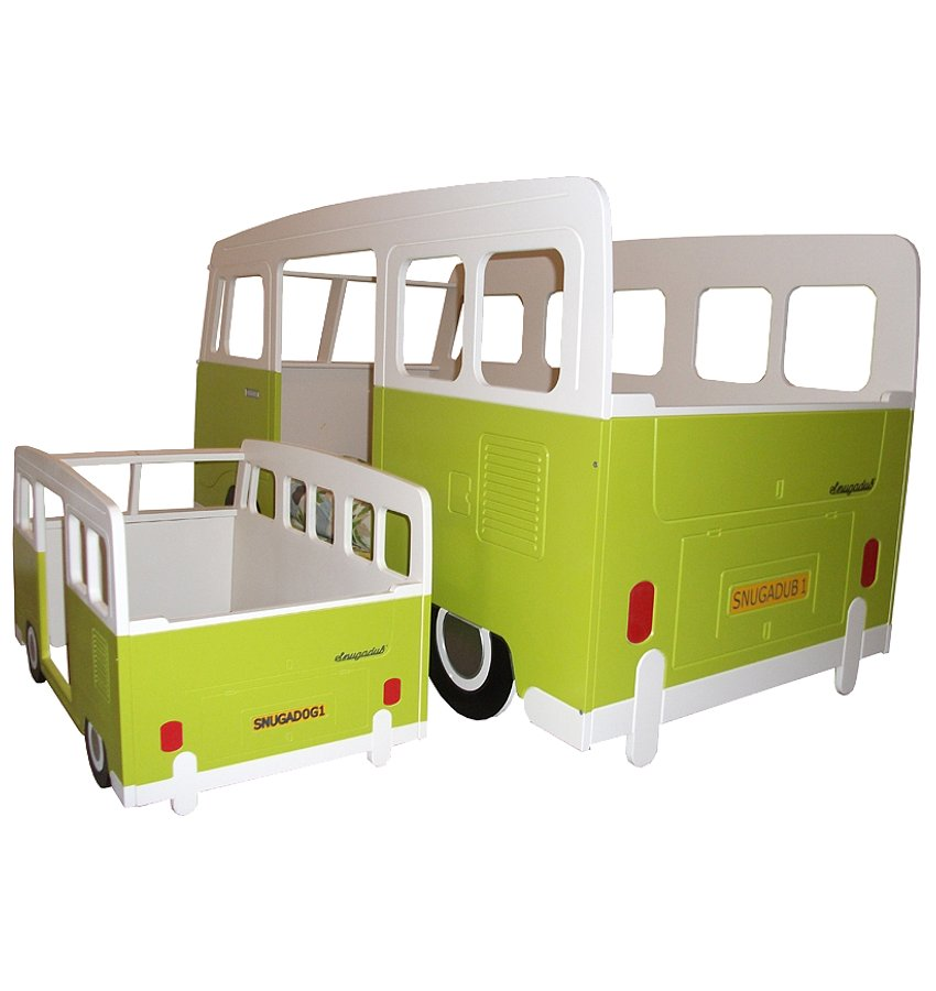Volkswagen camper style kinderbett - Kinderbett bus ...
