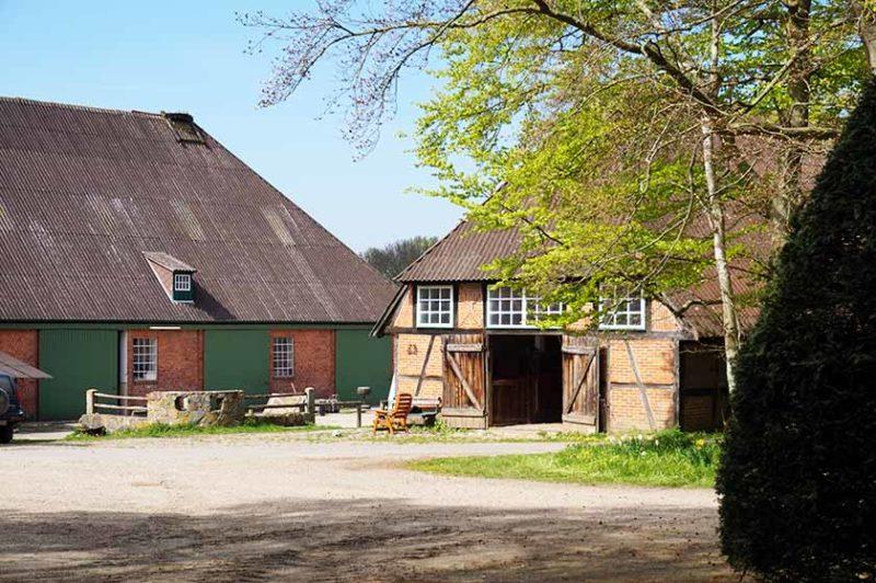 Urlaub auf dem Bauernhof an der Ostsee