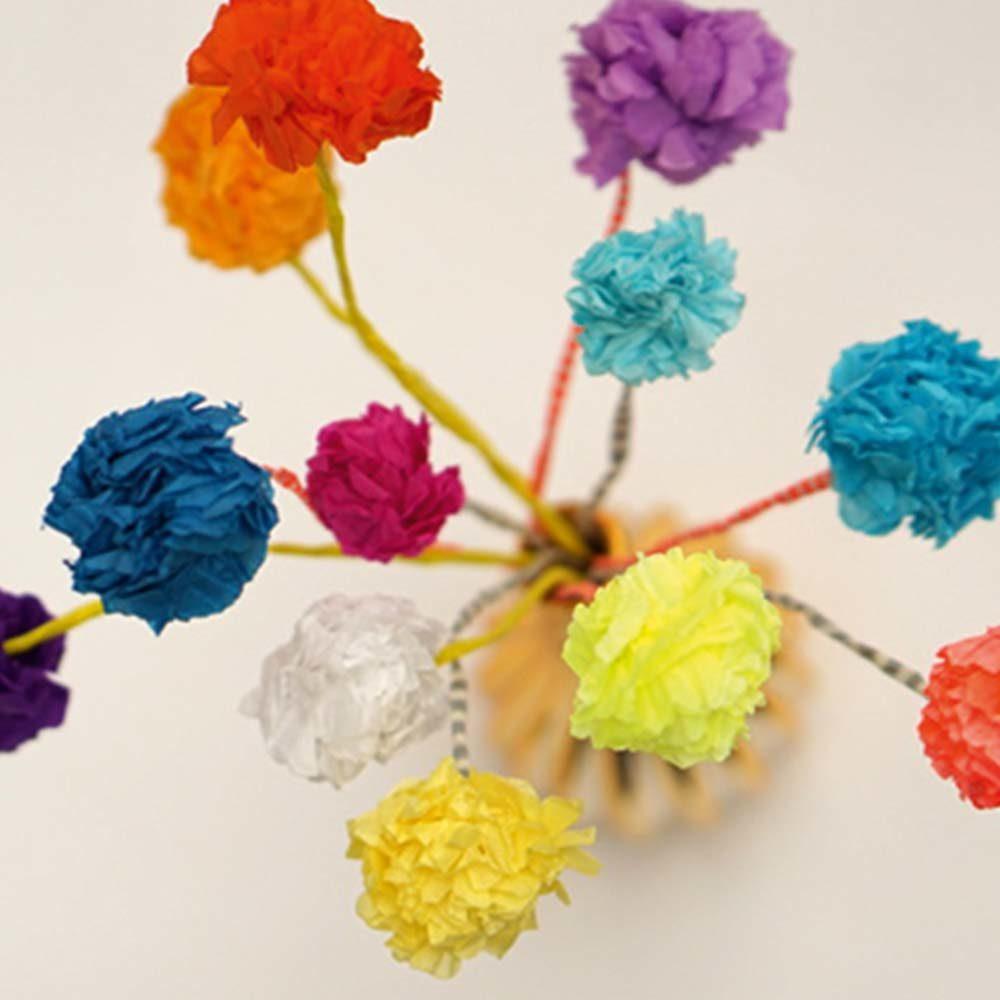 Blumen aus Seidenpapier   Lilli + Luke