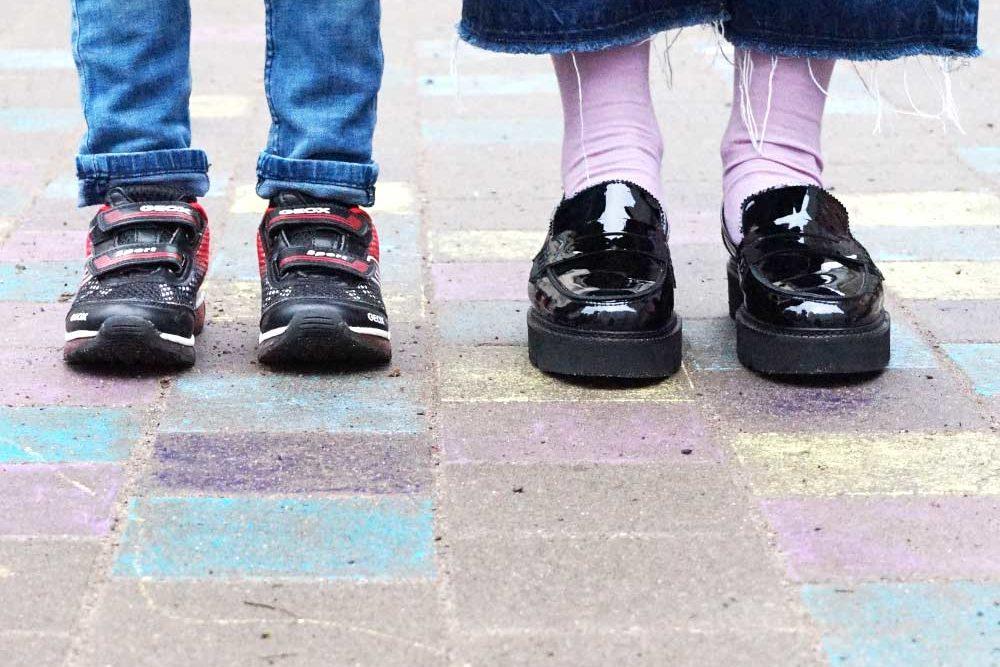 Mama & Mini: Plateau Slipper & Blinki Sneaker / Lilli & Luke