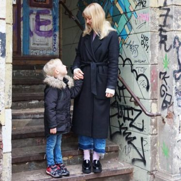 Mama & Mini: Plateau Slipper & Blinki Sneaker / Lilli & Luke