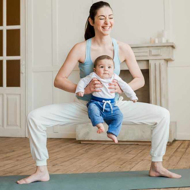 Yoga nach der Geburt / Lilli & Luke